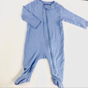 Old navy blue/lavender baby sleeper